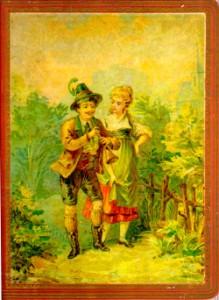 Cover of Elsie Jefferis's scrapbook.
